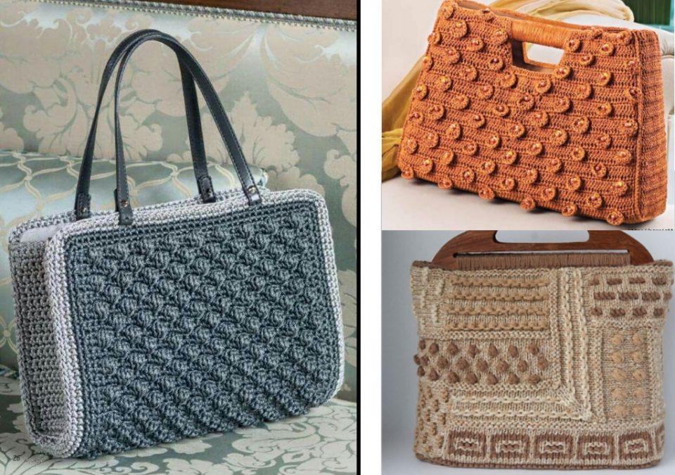 способы вязания сумок