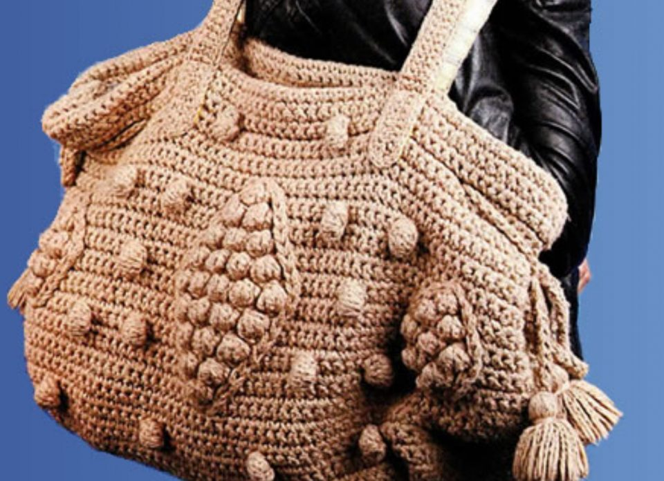 Вязаная сумка Дублин