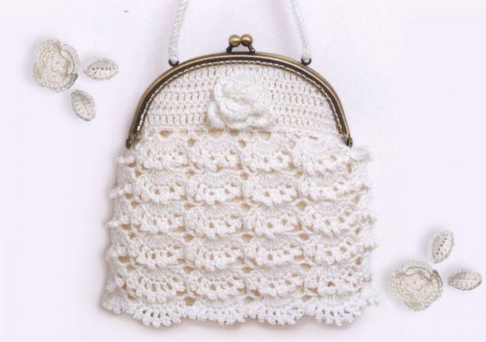 Ажурная сумка с фермуаром